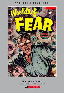 Pre-Code Classics Worlds Of Fear Volume 2